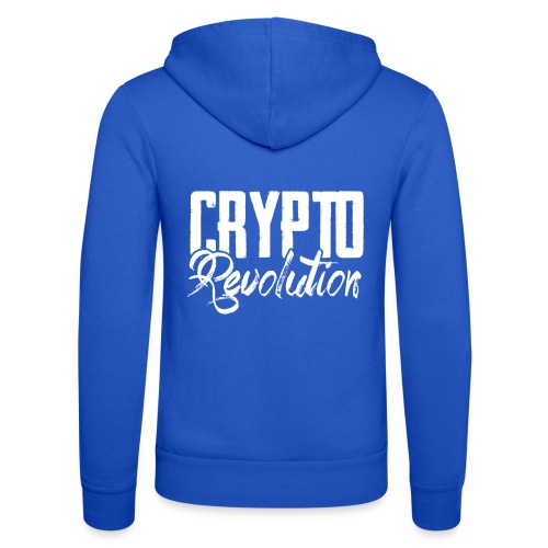 Crypto Revolution - Unisex Hooded Jacket by Bella + Canvas