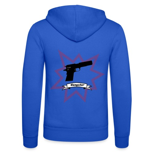 Gun with boom! - Unisex Hooded Jacket by Bella + Canvas
