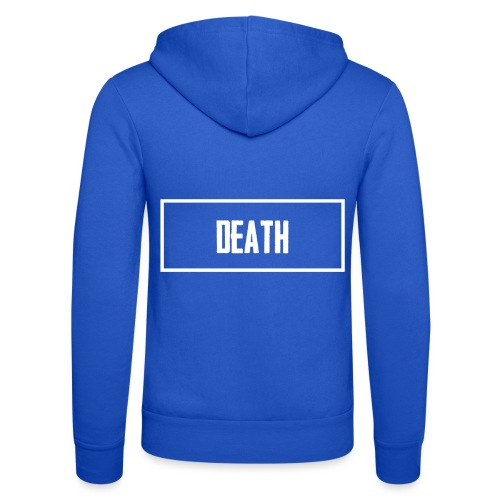 Death - Unisex Hooded Jacket by Bella + Canvas