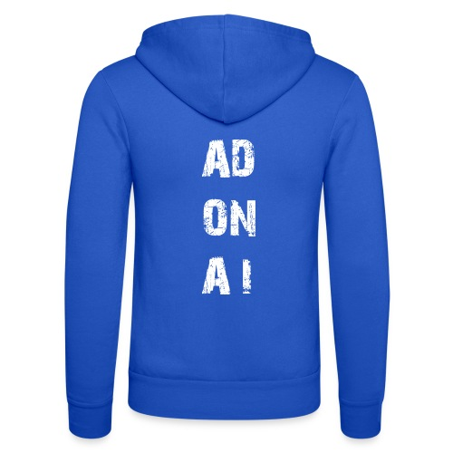 AD ON AI - Unisex Kapuzenjacke von Bella + Canvas