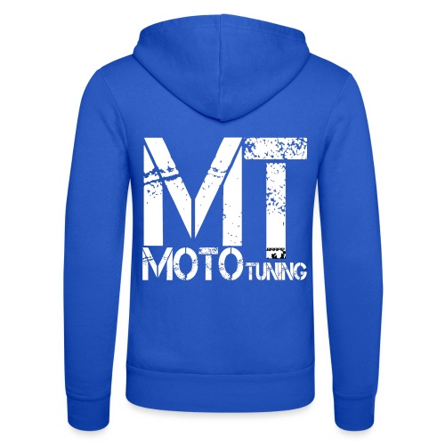 MotoTuning Logo - Unisex Hooded Jacket by Bella + Canvas