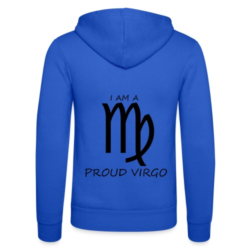 VIRGO - Unisex Hooded Jacket by Bella + Canvas