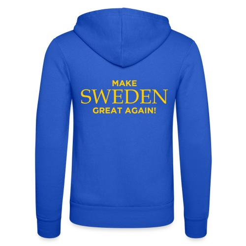 Make Sweden Great Again! - Luvjacka unisex från Bella + Canvas