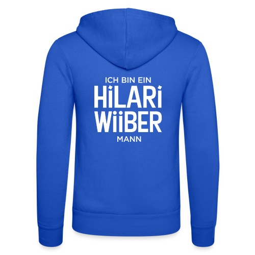 Proud Man of Hilari Wiiber - Unisex Kapuzenjacke von Bella + Canvas