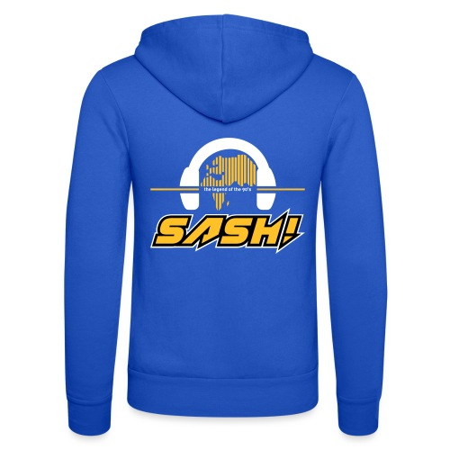 SASH! Logo 2020 Headfone - Unisex Hooded Jacket by Bella + Canvas