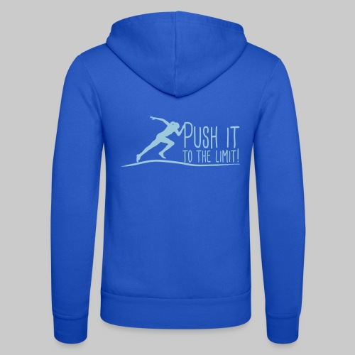 Push it to the limit woman - Unisex Kapuzenjacke von Bella + Canvas