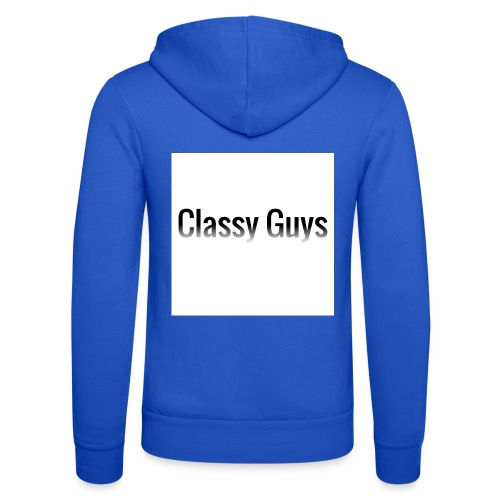 Classy Guys Simple Name - Unisex Hooded Jacket by Bella + Canvas