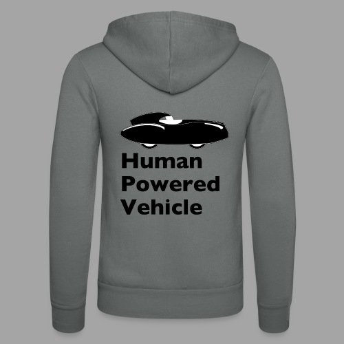 Quattrovelo Human Powered Vehicle black - Unisex Bella + Canvas -hupputakki