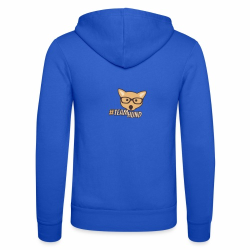 Team Hund | Hunde Design - Unisex Kapuzenjacke von Bella + Canvas