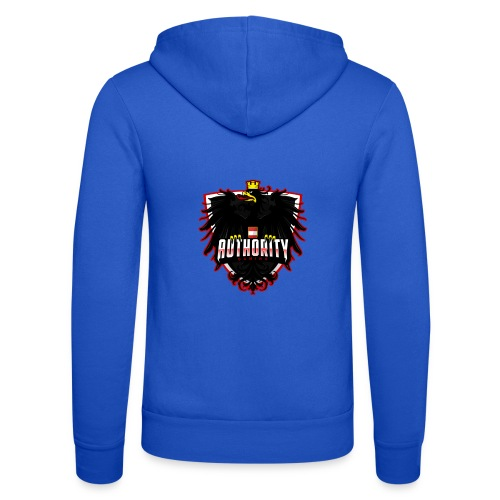 AUThority Gaming red - Unisex Kapuzenjacke von Bella + Canvas