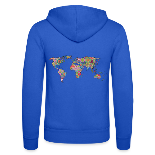 Hipsters' world - Unisex Hooded Jacket by Bella + Canvas