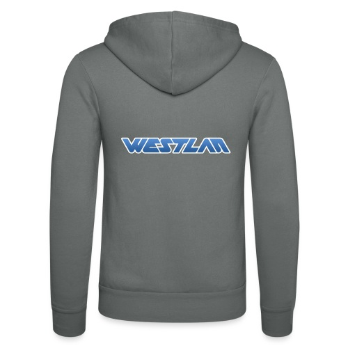 WestLAN Logo - Unisex Hooded Jacket by Bella + Canvas