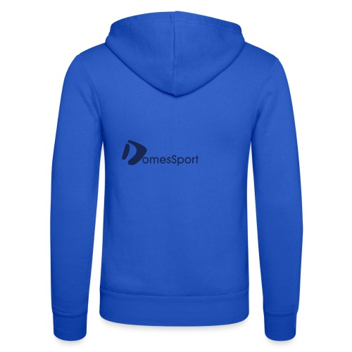 Logo DomesSport Blue noBg - Unisex Kapuzenjacke von Bella + Canvas