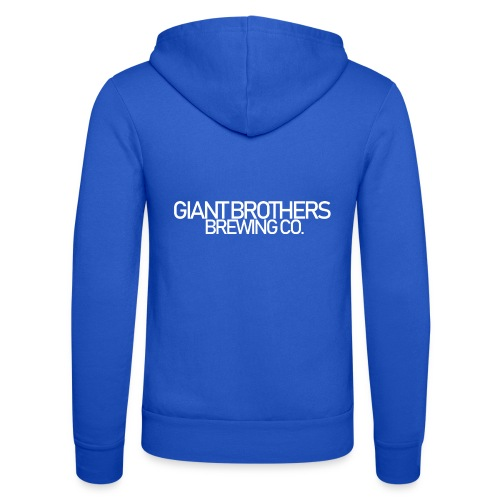 Giant Brothers Brewing co white - Luvjacka unisex från Bella + Canvas