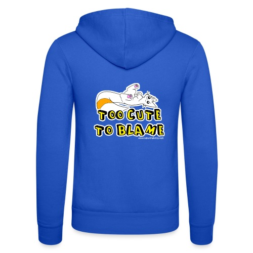 Too Cute To Blame - Unisex Hooded Jacket by Bella + Canvas