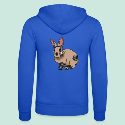 BUNNYBOT - Unisex Hooded Jacket by Bella + Canvas