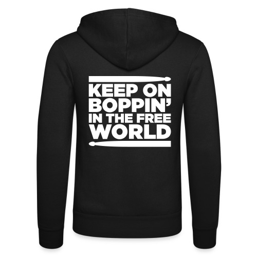 Keep on Boppin' - Unisex Hooded Jacket by Bella + Canvas
