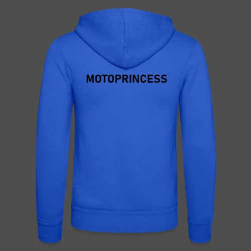 moto princess - Unisex Hooded Jacket by Bella + Canvas