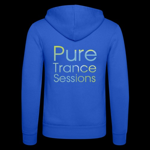 PureTrance100 transparantGROOT kopie png - Unisex Hooded Jacket by Bella + Canvas