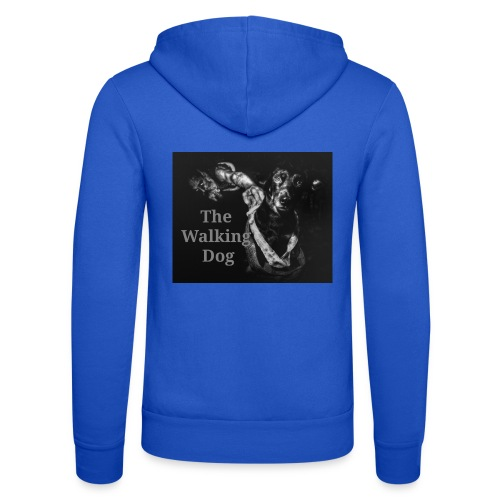 The Walking Dog - Unisex Kapuzenjacke von Bella + Canvas