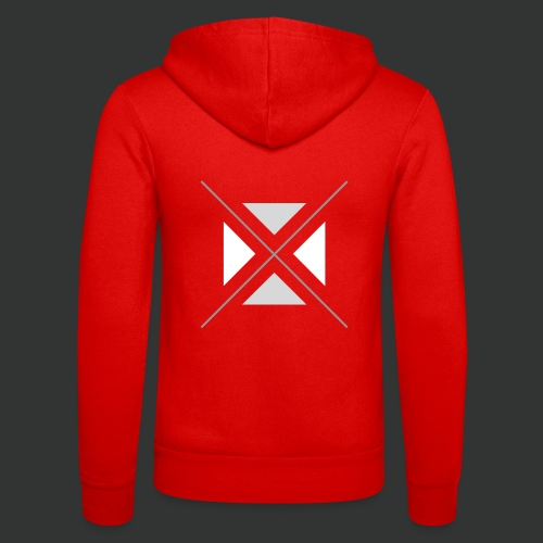 hipster triangles - Unisex Hooded Jacket by Bella + Canvas