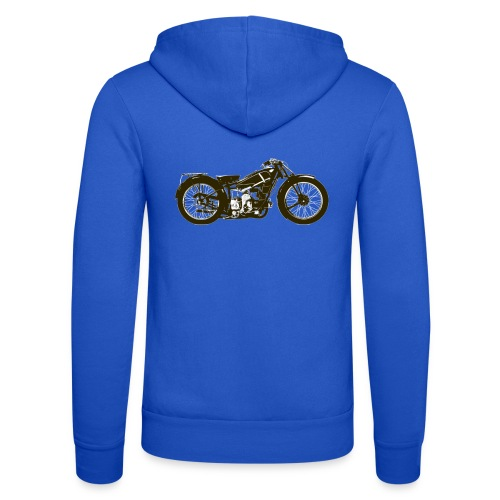 Classic Cafe Racer - Unisex Hooded Jacket by Bella + Canvas
