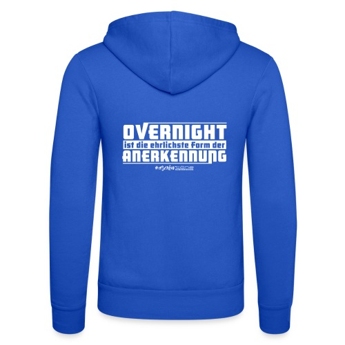 Overnight - Unisex Kapuzenjacke von Bella + Canvas