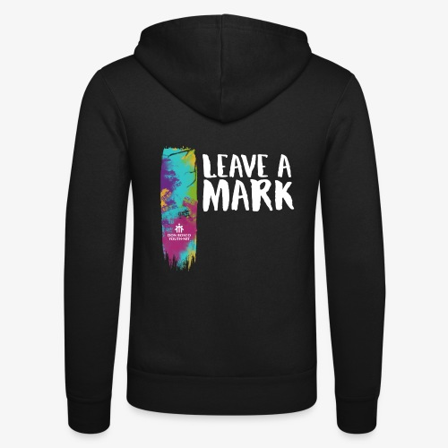 Leave a mark - Unisex Hooded Jacket by Bella + Canvas