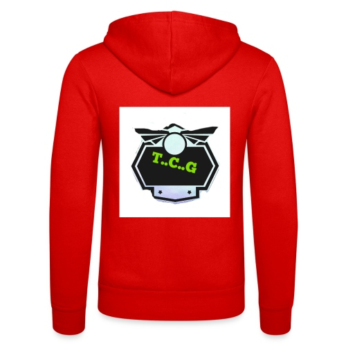Cool gamer logo - Unisex Hooded Jacket by Bella + Canvas