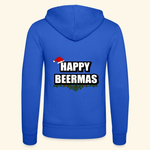 HAPPY BEERMAS AYHT - Unisex Hooded Jacket by Bella + Canvas
