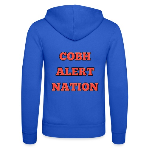 COBH ALERT NATION merchandise - Unisex Hooded Jacket by Bella + Canvas