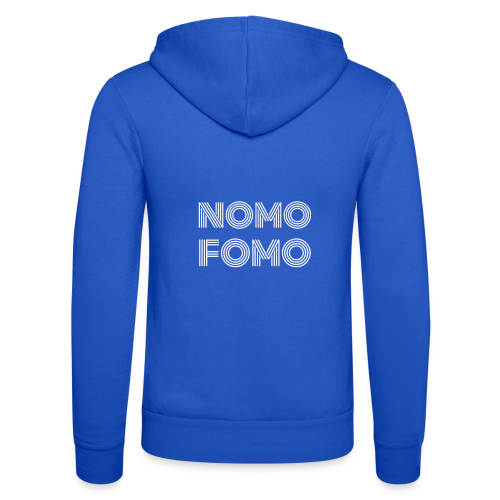 NOMO FOMO - Unisex Hooded Jacket by Bella + Canvas