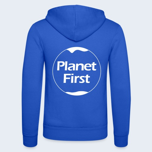 Planet First - Unisex hoodie van Bella + Canvas