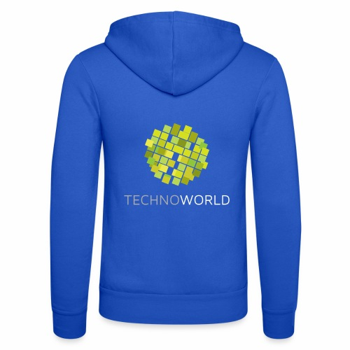 Techno World - Unisex Kapuzenjacke von Bella + Canvas