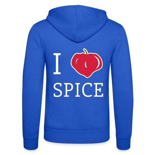 i_love_spice-eps - Unisex Bella + Canvas -hupputakki