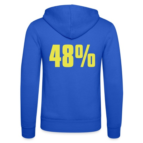 48% - Unisex Hooded Jacket by Bella + Canvas