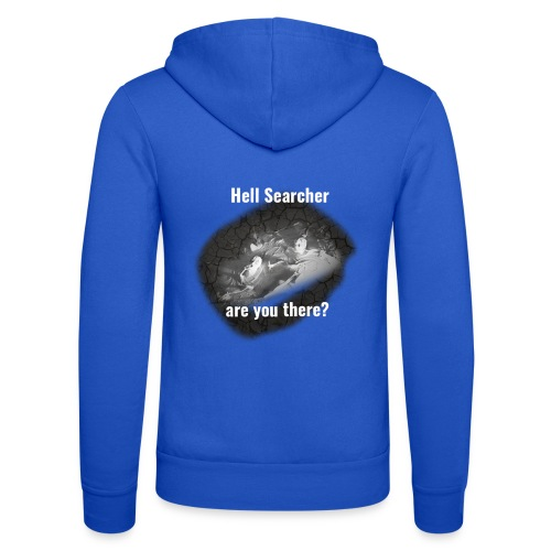 Searching For Hell Bag Black - Unisex Hooded Jacket by Bella + Canvas