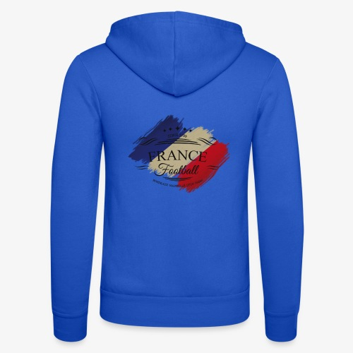 France Football - Unisex Kapuzenjacke von Bella + Canvas