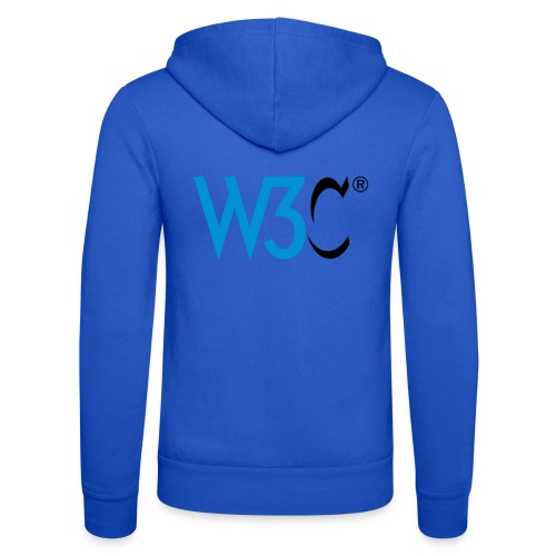 w3c - Unisex Hooded Jacket by Bella + Canvas