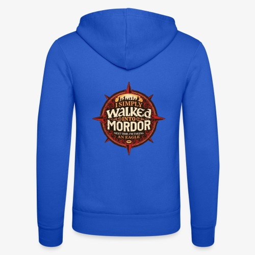 I just went into Mordor - Unisex Hooded Jacket by Bella + Canvas