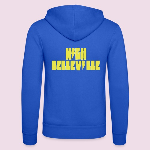 HIGH BELLEVILLE - Veste à capuche unisexe Bella + Canvas