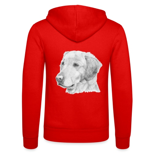 Golden retriever 2 - Unisex hættejakke fra Bella + Canvas