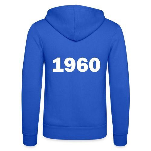 1960 - Unisex Hooded Jacket by Bella + Canvas