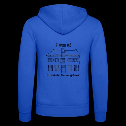 I was at Hotel de Tabaksplant BLACK - Unisex Hooded Jacket by Bella + Canvas