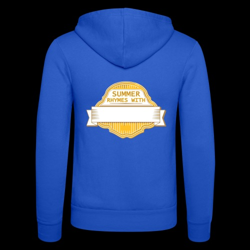 CUSTOMIZE SUMMER RHYMES with - Unisex Hooded Jacket by Bella + Canvas