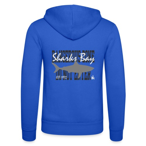 Sharks Bay - Unisex Kapuzenjacke von Bella + Canvas