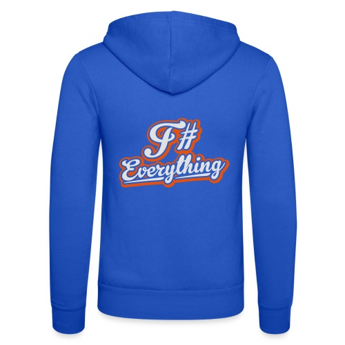 F# Everything - Unisex Hooded Jacket by Bella + Canvas