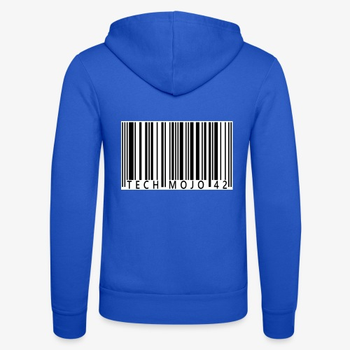 TM graphic Barcode Answer to the universe - Unisex Hooded Jacket by Bella + Canvas