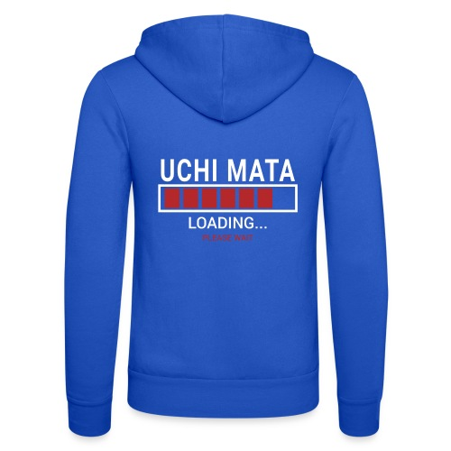 Uchi Mata Loading... pleas Wait - Bluza z kapturem Bella + Canvas typu unisex