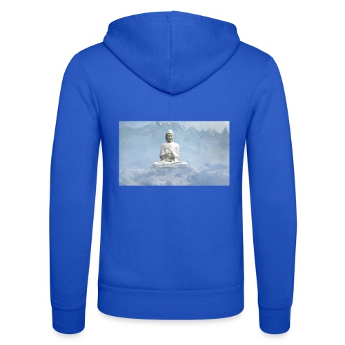 Buddha with the sky 3154857 - Unisex Hooded Jacket by Bella + Canvas